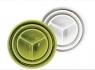 Трехуровневая тарелка (миска, поднос Twist Fold 3 Tiered Bowl)