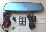 Регистратор-зеркало с камерой заднего вида L9000-2
