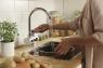 Мгновенный нагреватель воды для кухни и душа