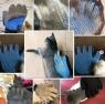Перчатка для вычесывания шерсти домашних животных - True Touch