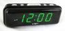 Часы сетевые 738-2 зеленые